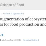 論文「人間による生態系の拡張:食料生産と科学の2045年目標」邦訳