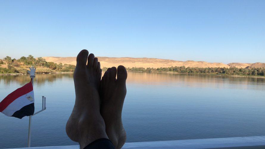 エジプト視察(2):ナイル川下り
